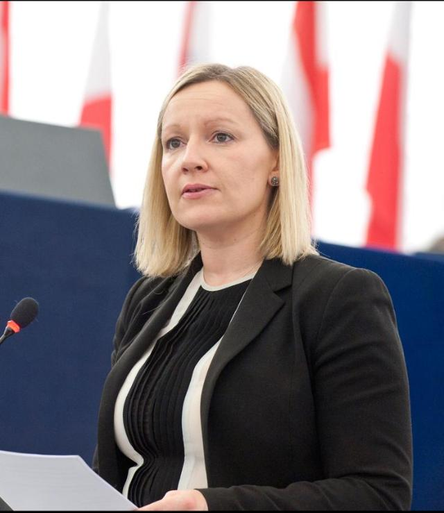 Minister Creighton at EP Plenary