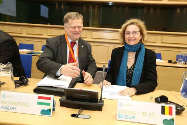 Energy Informal Hungarian and Belgian Ministers